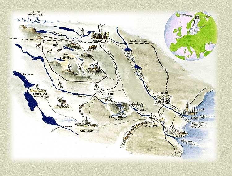 storforsen karta Storforsen storforsen karta